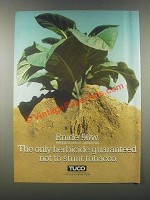 1985 Upjohn Tuco Enide 90w Preemergence Herbicide Ad