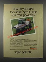 1985 Melroe Spra-Coupe Ad - How You Make More Powerful