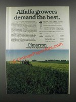 1985 Great Plains Research Company Cimarron Ad