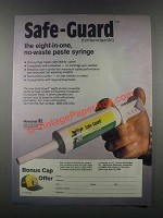 1985 Hoechst Safe-Guard Ad - Eight-in-One No-Waste