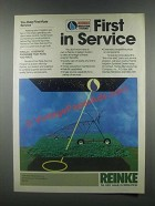 1985 Reinke Irrigation Systems Ad - First in Service