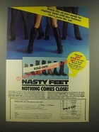 1985 Easyriders Nasty Feet Boots Ad - Watch this Ad