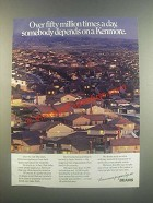 1985 Sears Kenmore Appliances Ad - Fifty Million Times