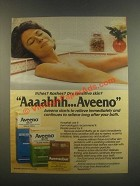 1985 Aveeno Bath Ad - Itches? Rashes?