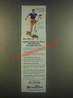 1985 NordicTrack Exercise Machine Ad - Bill Koch