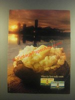 1985 Land O Lakes Butter Ad - When the Flavor Counts