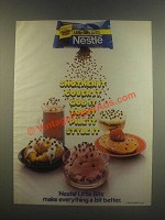 1985 Nestle Little Bits Semi Sweet Chocolate Ad