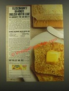 1985 Fleischmann's RapidRise Yeast Ad - English Muffin
