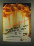 1985 Duncan Hines Angel Food Cake Ad - This Luscious