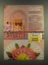 1985 Dole Crushed Pineapple Ad - Cranberry Mousse
