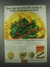 1985 Uncle Ben's Converted Rice Ad - Chicken Oriental