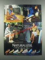 1985 Naturalizer Shoes Ad - Fits The Way You Live