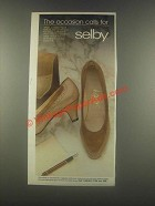 1985 Selby Mae Shoes and Handbag Ad - The Occasion