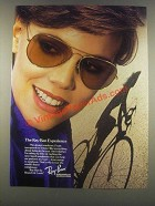 1985 Bausch & Lomb Ray-Ban Sunglasses Ad - Experience