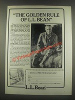 1985 L.L. Bean Ad - The Golden Rule