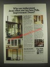 1985 Pella Improvement Doors Ad - Why Use Replacement