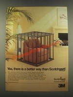1985 3M Scotchgard Fabric Protector Ad - Yes, There Is