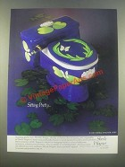 1985 Sherle Wagner Toilet Ad - Sitting Pretty