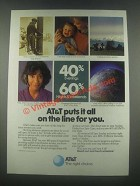 1985 AT&T Long Distance Ad - Puts it All On the Line
