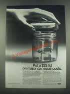 1985 Ford Extended Service Plan Ad - a $25 Lid