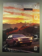 1985 Buick Somerset Ad - Ride Off Into the Somerset
