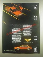 1985 Buick Skylark Ad - A Little Sedan A Lot of Buick