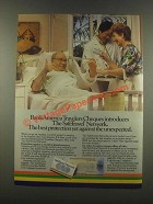 1985 BankAmerica Travelers Cheques Ad - The SafeTravel Network