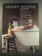 1985 Dewar's White Label Scotch Ad - Gary Jobson