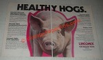 1985 Tuco Lincomix Ad - Healthy Hogs