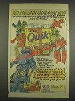 1985 Nestle Quik Ad - Win a complete set of Gobot toys!