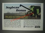 1985 Southern States Ad - FFR-561 and FFR-339 Soybean Seeds