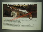 1985 United States Hitorical Society Andrew Jackson Commemorative Pistol Ad