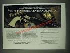 1985 United States Historical Society Buffalo Bill Commemorative Pistol Ad