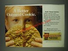 1985 Nestle Butterscotch Morsels Ad - A better Oatmeal Cookie