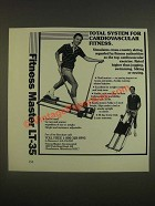 1985 Fitness Master LT-35 Exercise Machine Ad - Total System