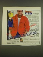 1985 International Male French Chief Petty Officer's Jacket Ad