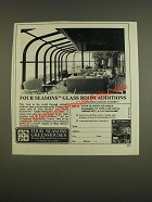 1985 Four Seasons Greenhouses Ad - Additions
