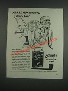 1943 Briggs Pipe Mixture Tobacco Ad - Surgeons