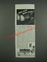 1946 Cutler-Hammer Multi-Breaker Ad - Why fuss with fuses?