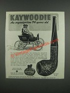 1947 Kaywoodie Relief Grain No. 07c Pipe Ad