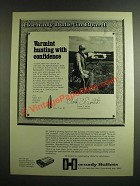1974 Hornady 6mm 75 gr. Hollowpoint Bullet Ad - Varmint Hunting