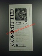 1996 Hornady Reloading Ad - Committed Webster Would be Proud