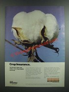 1986 Pennwalt Accelerate Cotton Harvest Aid Ad - Crop Insurance