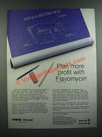 1986 Hoechst Flavomycin Ad - Plan More Profit with Flavomycin
