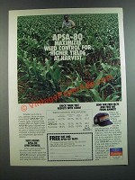 1986 Amway APSA-80 All-Purpose Spray Adjuvant Ad - Weed Control