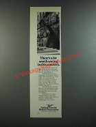 1986 National Trust for Historic Preservation Ad - Lot Worth Saving