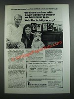 1986 Save the Children Ad - Paul Newman and Joanne Woodward