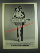1986 The National Corporate Fund for Dance Ad - A New Partner