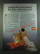 1986 Toro Irrigation Products Ad - Satisfaction Guaranteed You Have Our Word