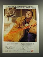 1986 Purina Dog Food Ad - Make Friends With a Puppy